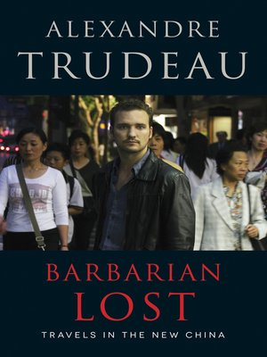 cover image of Barbarian Lost