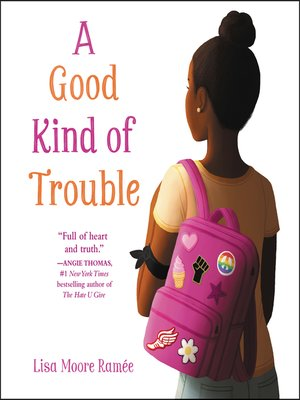 cover image of A Good Kind of Trouble