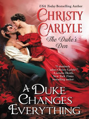 cover image of A Duke Changes Everything