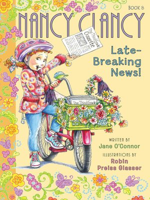 cover image of Nancy Clancy, Late-Breaking News!