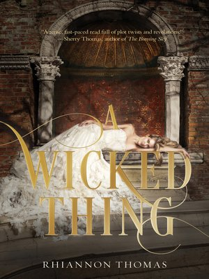 cover image of A Wicked Thing