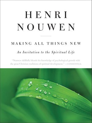 cover image of Making All Things New