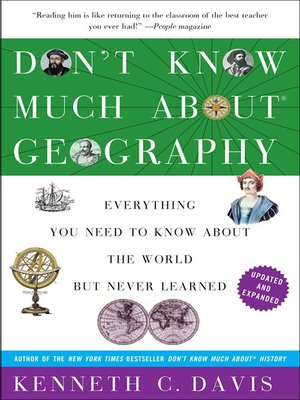 cover image of Don't Know Much About the Bible Geography