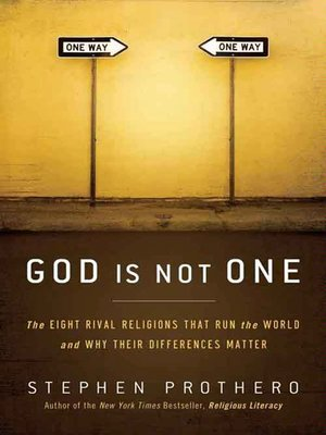 cover image of God Is Not One