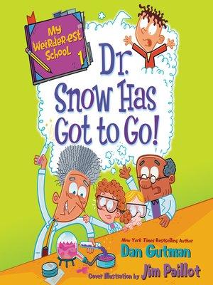 cover image of My Weirder-est School #1