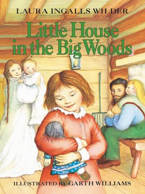 cover image of Little House in the Big Woods