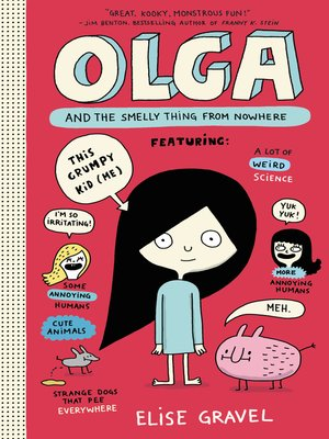 cover image of Olga and the Smelly Thing from Nowhere