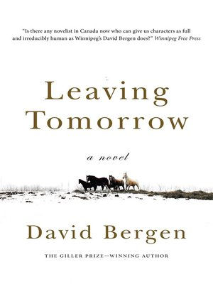 cover image of Leaving Tomorrow