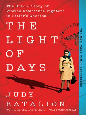 cover image of The Light of Days