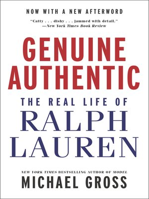 cover image of Genuine Authentic