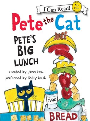 cover image of Pete's Big Lunch
