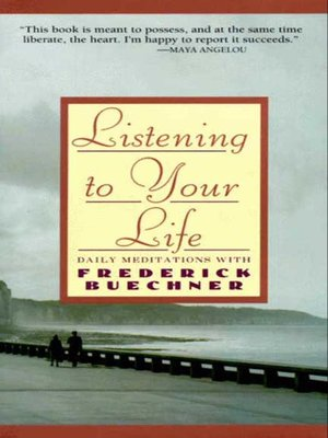 cover image of Listening to Your Life