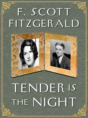 cover image of Tender is the Night