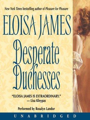 cover image of Desperate Duchesses