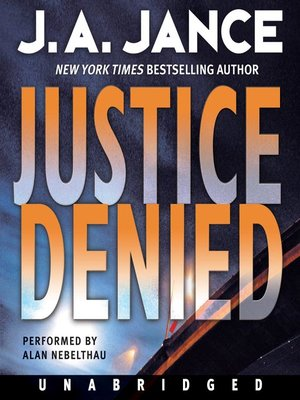 cover image of Justice Denied