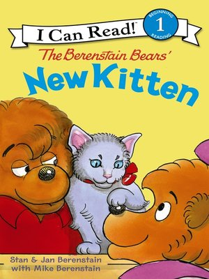 cover image of The Berenstain Bears' New Kitten