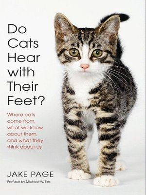 cover image of Do Cats Hear with Their Feet?
