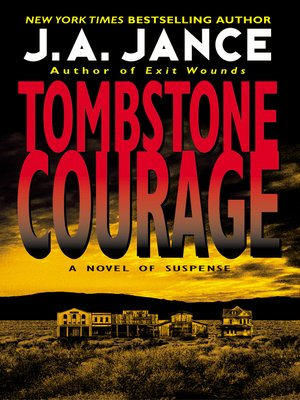 cover image of Tombstone Courage