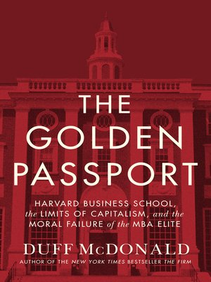 cover image of The Golden Passport