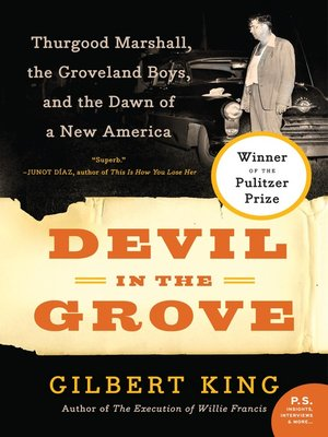cover image of Devil in the Grove