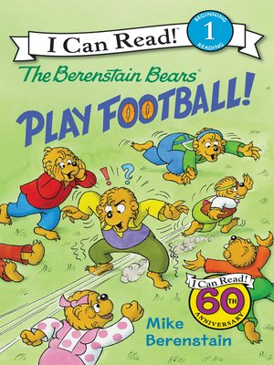 cover image of The Berenstain Bears Play Football!