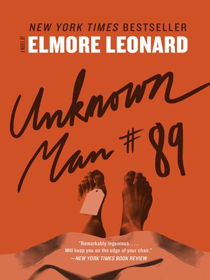 cover image of Unknown Man #89
