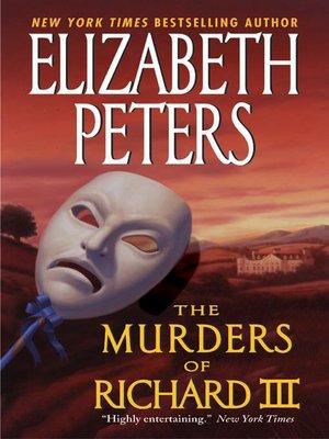 cover image of The Murders of Richard III