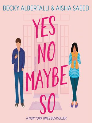 cover image of Yes No Maybe So