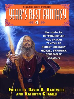 cover image of Year's Best Fantasy 4