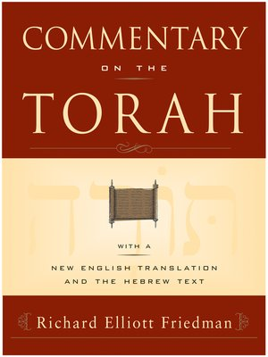 cover image of Commentary on the Torah