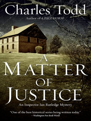 cover image of A Matter of Justice