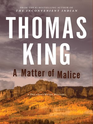 cover image of A Matter of Malice