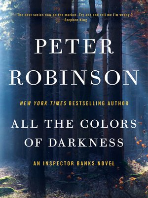 cover image of All the Colors of Darkness