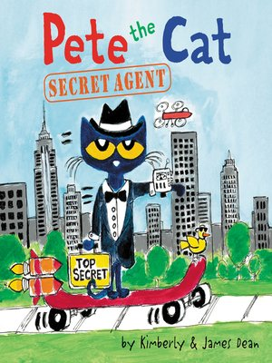 cover image of Pete the Cat: Secret Agent