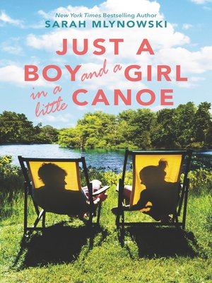 cover image of Just a Boy and a Girl in a Little Canoe
