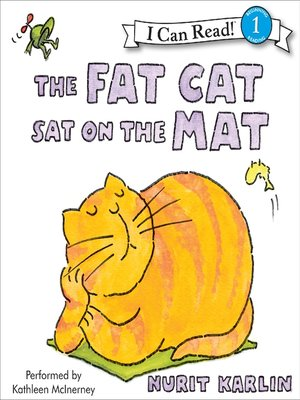cover image of The Fat Cat Sat on the Mat