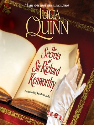 cover image of The Secrets of Sir Richard Kenworthy