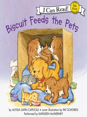 cover image of Biscuit Feeds the Pets