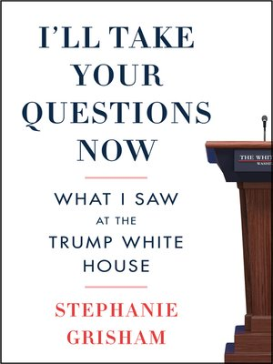cover image of I'll Take Your Questions Now