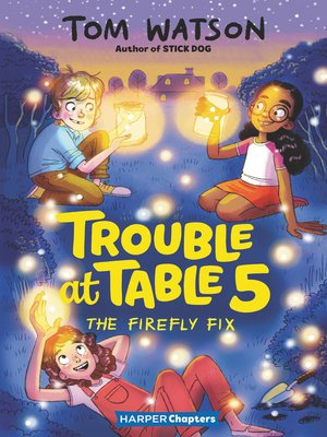 cover image of Trouble at Table 5 #3