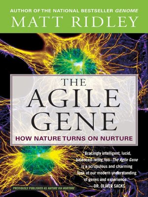 cover image of The Agile Gene
