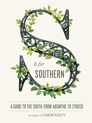 cover image of S Is for Southern