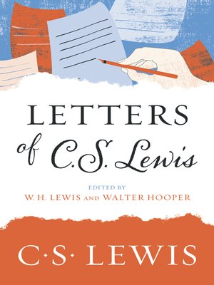 cover image of Letters of C. S. Lewis