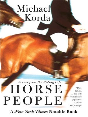 cover image of Horse People