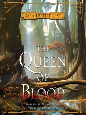 cover image of The Queen of Blood