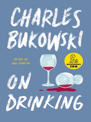 cover image of On Drinking