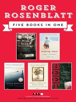 cover image of Roger Rosenblatt Collection