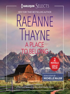 cover image of A Place to Belong