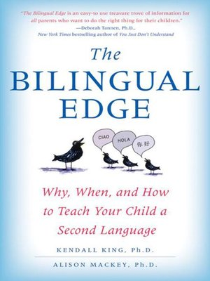 cover image of The Bilingual Edge