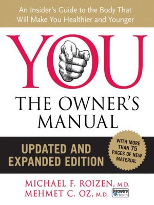 cover image of YOU: The Owner's Manual, Updated and Expanded Edition